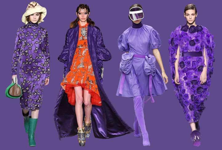 Pantone Ultra Violet nella moda